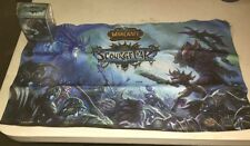 World Of Warcraft Scourgewar Playmat And Deckbox Set for Card Game WoW