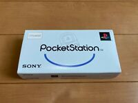 Sony PocketStation PlayStation PS Crystal SCPH-4000 BOX and Manual Japan