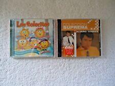 """Lot Of 2 """" NIP """" Cds,1,Los Solecitos CD / DVD 1,Coleccion Suprema Alvaro Torres"""