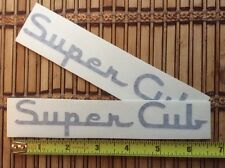 PIPER SUPER CUB AIRCRAFT DECALS set of 2