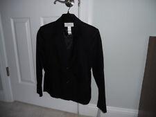 Liz Claiborne lizsport black jacket 10 P
