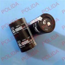 1PCS AUDIO Electrolytic Capacitor NIPPON 10000UF 63V 30X50mm 105℃ #E165 YX