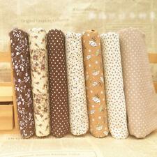New Series 7pcs Assorted Pre-Cut Quarters Bundle Charm Cotton Quilt Fabric