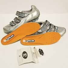 Pearl Izumi Vagabond M3 SILVER SIZE 41 EUR. MTB cycling shoes, Womens 9.5 US.