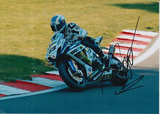 Tommy Hill Crescent Suzuki Hand Signed 7x5 Photo BSB 1.