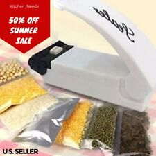 Portable Mini SUPER SEALER Heat Sealing Machine Seal Packing Plastic Bag NEW
