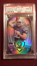 Andrew Luck 2012 Topps Game Time Giveaway Die-Cut Rookie PSA 10 Gem Mt Pop 1 & 2