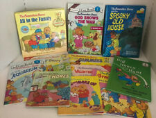 The Berenstain Bears Book Lot Halloween Easter Valentines Day Big Honey Hunt