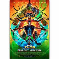 20A618 Hot New Thor Ragnarok Movie 2017 Comic Classic Movie Art Poster Silk Deco