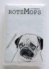 """Papier-Taschentücher """"Rotz-Mops"""" von Möpsle - Mops - Geschenk - Hund - Pug"""