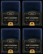 (100) Cardboard Gold CBG Regolare Topload Figurina titolari per Sports carte