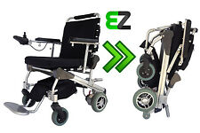EZ Lite Cruiser Deluxe DX8 Light Foldable Power Wheelchair - 10 Ah Battery