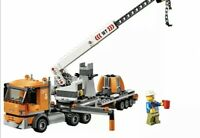 LEGO City Crane Truck & Trailer & Minifigure Train Town Scenery 60197 60198 NEW