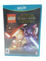 LEGO Star Wars: The Force Awakens (Nintendo Wii U, 2016) EUC Complete