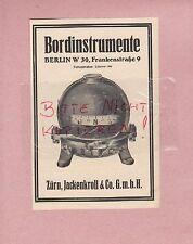 Berlín, publicidad 1928, Zürn, jackenkroll & co. GmbH instrumentos de a bordo