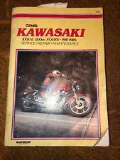 M451 Clymer Manual Kawasaki 1000 and 1100cc Fours, 1981-1985