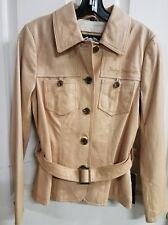 #400 NWT Harley-Davidson ladies lambskin leather jacket, XS, tan