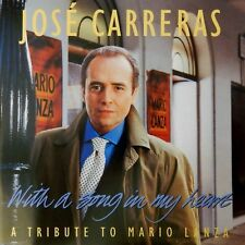 Jose Carreras - With A Song In My Heart Mario Lanza (CD 1993 Teldec) Near MINT