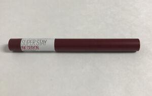 Maybelline Superstay Ink Crayon Matte Longwear  #65 SETTLE FOR MORE
