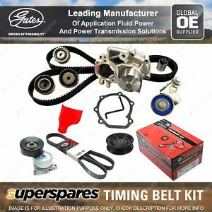 Gates Timing Belt Kit for Mitsubishi Pajero V77W 3.8L 160KW GROOVES mm 02 - 07