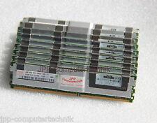 16GB 4x 4GB DDR2 Speicher RAM HP G5 DL380 DL365 398708-061 PC2-5300F FB DIMM RAM