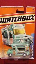 Matchbox City Action  T8990   ICE CREAM TRUCK  63/100   green truck  NOS