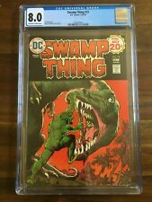SWAMP THING #12 - CGC 8.0 VF DC Bronze Age 9-10/74 OW/WP Nestor Redondo Art Book