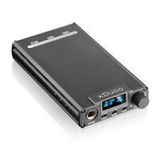 xDuoo XD-05 32bit/384KHz DSD DAC Portable Headphone Amplifier Black
