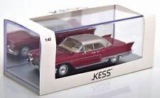 Cadillac Eldorado Brougham 1957 Red/Silver, KESS, 1/43 Scale