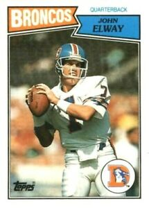1987 Topps American/UK Mini Football Pick Complete Your Set #1-88 FREE SHIPPING