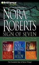 Nora Roberts Sign of Seven CD Collection : Blood Brothers, the Hollow, the...