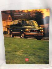 1996 GMC Safari Sales Brochure, 26 pages. NEW.