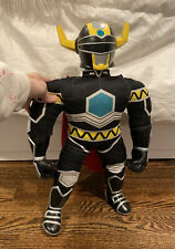 "Power Rangers Lost Galaxy Magna Defender 20"" soft Black plush Figure 1998 Saban"