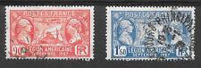 FRANCE SG458/9 VISIT OF AMERICAN LEGION 1927 GOOD-FINE USED.