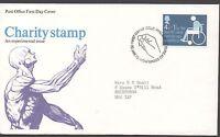 GB 1975 FDC Health & Handicap Funds Bureau Edinburgh postmark stamp