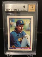 EBAY 1/1 Beckett Graded 2017 Bowman Buyback Autographs RANDY JOHNSON AUTO 😱😱