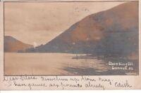 Postcard RPPC Storm King Mt Cornwall NY