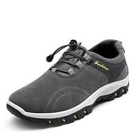 New Men's outdoor Hiking Shoes Waterproof Casual shoes Suede  Athletic Sneakers