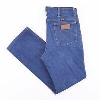 Vintage WRANGLER Men's Blue Regular Fit Jeans W33 L30