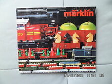 CATALOGUE MARKLIN 1982 / 1983 en français   I59