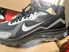 NIKE AIR MAX ALPHA 2011 + BNIB BLACK/METALLIC GREY SIZE 15