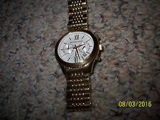 Michael Kors Brookton Chronograph Gold-Tone SS Ladies Watch; MK5762;FREE SH