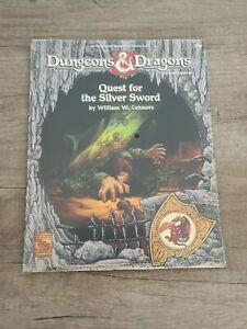 Quest for the Silver Sword (Sealed), Dungeons & Dragons, TSR, RPG