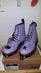 Dr.Marten's Mens Purple boots. Size US 11