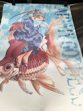 "Ah! My Goddess Huge Belldandy 39"" rare Official anime Poster Vintage heavy stock"