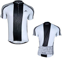 Men's Breathable Cycling Jersey Top Bike Bicycle Clothing Short Sleeves T-Shirt
