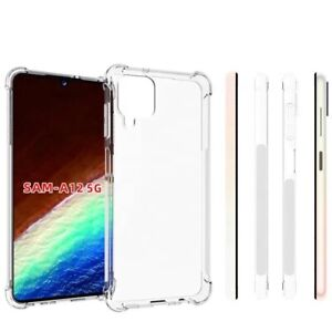 Shockproof Clear Transparent Hard Case Cover For Samsung Galaxy A12