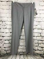 NWT Kenneth Cole New York Amanda Pants Heather Gray Sz 8 SHORT