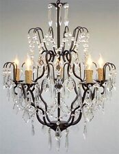 Stunning European Versailles Crystal 5 Light Chandelier  NIBox Assembly Required