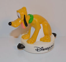 "Rare Foreign 1999 Pluto 2.5"" McDonald's Pvc Action Figure Disneyland Paris Train"